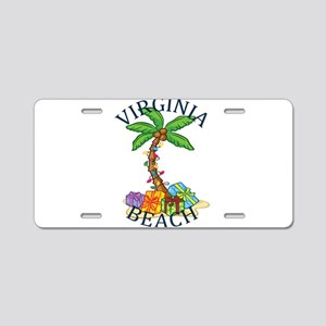 Summer virginia beach- virg Aluminum License Plate